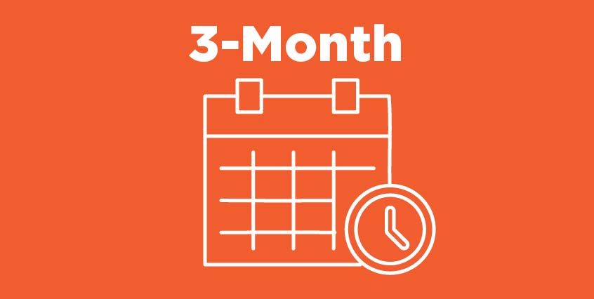 3-Month Payment Plan Icon