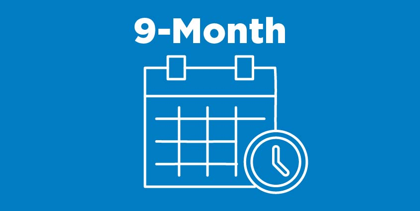 9-Month Payment Plan Icon