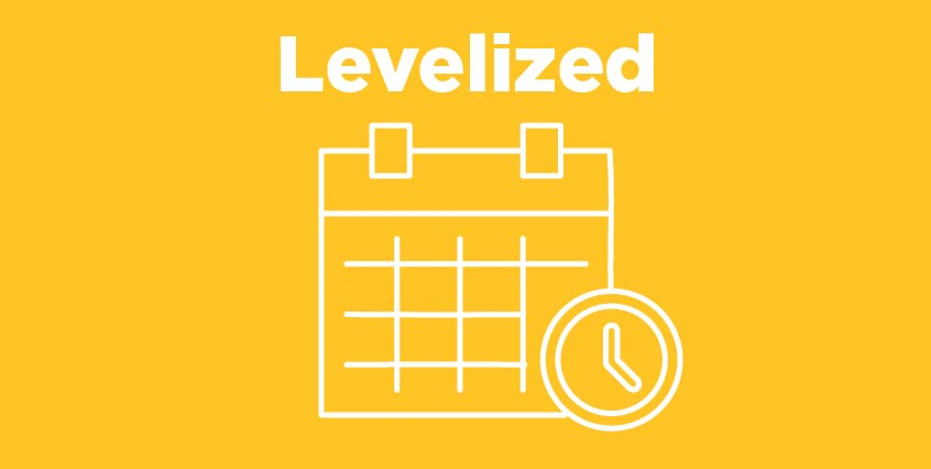 Levelized Payment Plan Icon