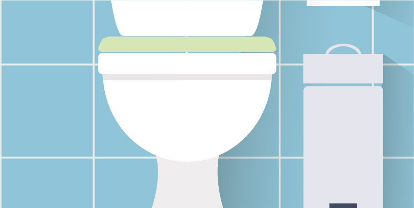 Be alert to any unusual conditions, including bubbling water in your toilet bowl.