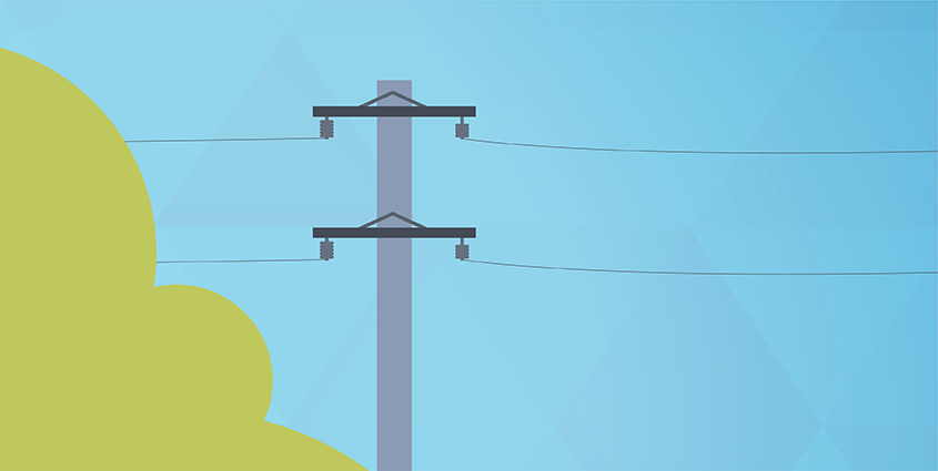 See a downed power line? Stay away.
