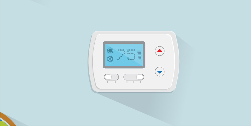 Installing a programmable thermostat can save energy
