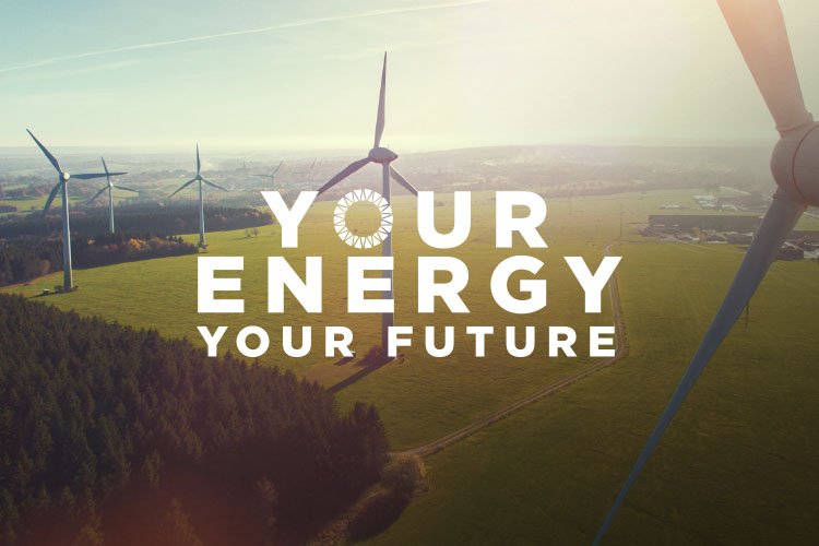 Your Energy, Your Future Slider