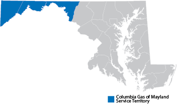 Maryland Service Territory Map