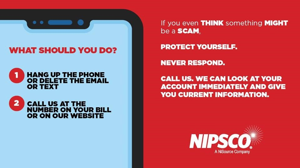 NIPSCO scam awareness tips for customers
